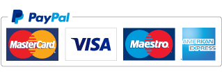 Pay with Paypal, safe and secure.